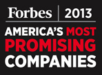 Forbes 2013 America's Most Promising Companies